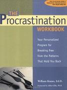 Procrastination Workbook Cover