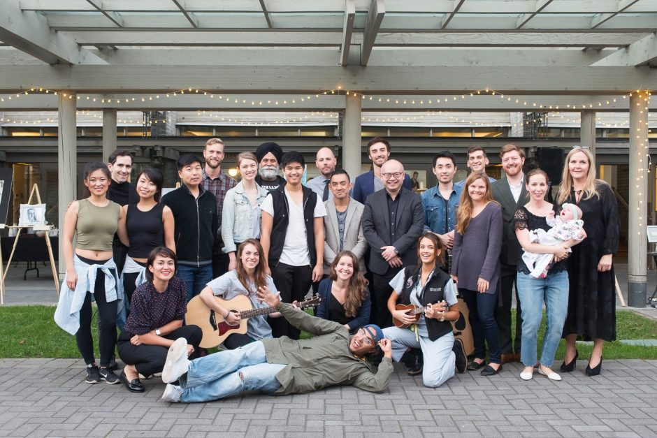2018 Resident Talent Night performers, artists, and Planning Committee